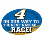 "Fanatics Kevin Harvick 13"" x 19"" Jumbo Race Day Peel & Stick Decal"