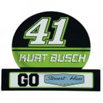 """Fanatics Kurt Busch 13.5"""" x 16.5"""" Jumbo Tailgate Car Magnet"""
