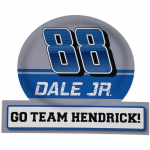 "Fanatics Dale Earnhardt Jr. 13"" x 16.5"" Jumbo Tailgate Peel & Stick Decal"