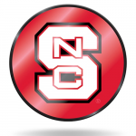 Fanatics NC State Wolfpack Laser Discus Decal