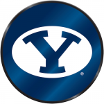 Fanatics BYU Cougars Laser Discus Decal