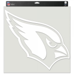 "Fanatics Arizona Cardinals 17"" x 17"" Perfect Cut Decal"
