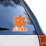 "Fanatics Clemson Tigers WinCraft Alumni 8"" X 8"" Colored Perfect Cut Decal"