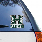 "Fanatics Hawaii Warriors WinCraft Alumni 8"" X 8"" Colored Perfect Cut Decal"