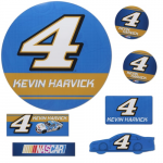 Fanatics Kevin Harvick 7 Piece Car Magnet Set
