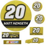Fanatics Matt Kenseth 7 Piece Car Magnet Set
