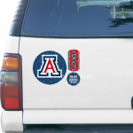 Fanatics Arizona Wildcats 11'' x 11'' Prismatic Car Magnet