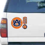 Fanatics Auburn Tigers 11'' x 11'' Prismatic Car Magnet
