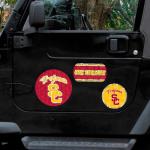 Fanatics USC Trojans 11'' x 11'' Prismatic Car Magnet