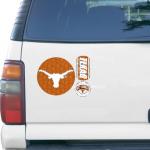 Fanatics Texas Longhorns 11'' x 11'' Prismatic Car Magnet