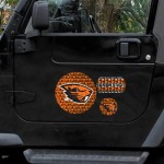Fanatics Oregon State Beavers WinCraft 11'' x 11'' 3-Pack Prismatic Car Magnet Set