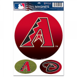 "Fanatics Arizona Diamondbacks WinCraft 11"" x 17"" Fan Car Magnet"