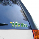 Fanatics Oregon Ducks 12'' x 12'' Family Car Decal Sheet