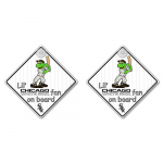 Fanatics Chicago White Sox Lil Fan Lil Fan On Board Decal 2-Pack