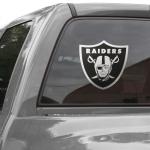 "Fanatics Oakland Raiders 12"" x 12"" Metallic Logo Decal"