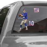 "Fanatics Eli Manning New York Giants WinCraft 11"" x 17"" Player Decals"