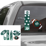Fanatics Colorado State Rams Six Piece Tailgate Pack Decal Set