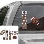 Fanatics Idaho Vandals Six Piece Tailgate Pack Decal Set