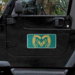 "Fanatics Colorado State Rams 8"" x 16"" Car Magnet"
