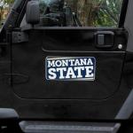 "Fanatics Montana State Bobcats 8"" x 16"" Car Magnet"