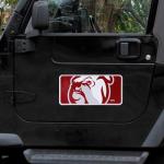 "Fanatics Mississippi State Bulldogs 8"" x 16"" Car Magnet"