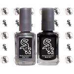 Fanatics Chicago White Sox 2-Pack Nail Polish with Nail Decal