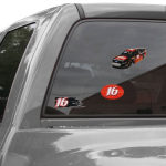 Fanatics Greg Biffle 3-Piece Decal Pack