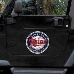 Fanatics Minnesota Twins 12'' Team Logo Car Magnet
