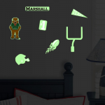 Fanatics Marshall Thundering Herd Lil' Buddy Team Glow Sticker Kit