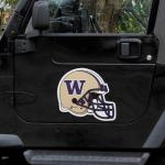 Fanatics Washington Huskies Helmet Car Magnet