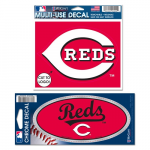 Fanatics Cincinnati Reds WinCraft Multi-Use Decal Pack - Red/White