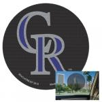 Fanatics Colorado Rockies 8'' Perforated Decal