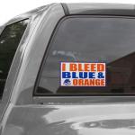 Fanatics Boise State Broncos 6'' x 12'' I Bleed Blue & Orange Car Decal