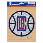 "Fanatics LA Clippers WinCraft 5"" x 7"" Shimmer Decal"