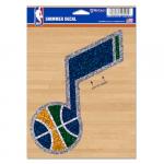 "Fanatics Utah Jazz WinCraft 5"" x 7"" Shimmer Decal"