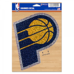 """Fanatics Indiana Pacers WinCraft 5"""" x 7"""" Shimmer Decal"""