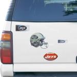 Fanatics New York Jets 3D 4-Piece Multi-Sheet Car Magnet