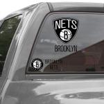 "Fanatics Brooklyn Nets 11"" x 17"" Ultra Decal Window Clings Sheet"