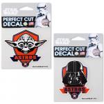 "Fanatics Houston Astros WinCraft 4"" x 4"" Star Wars Darth Vader & Yoda 2-Pack Decal Set"
