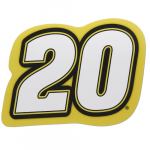 "Fanatics Matt Kenseth 12"" x 10"" Jumbo Number Car Magnet"
