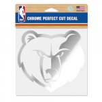 "Fanatics Memphis Grizzlies WinCraft 6"" x 6"" Chrome Decal"