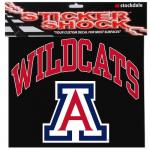 "Fanatics Arizona Wildcats 12"" x 12"" Arched Logo Decal"