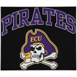 "Fanatics East Carolina Pirates 12"" x 12"" Arched Logo Decal"