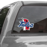 Fanatics Tulsa Golden Hurricane 8'' x 8'' Colored Die Cut Decal