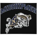 "Fanatics Navy Midshipmen 12"" x 12"" Arched Logo Decal"