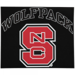 """Fanatics NC State Wolfpack 12"""" x 12"""" Arched Logo Decal"""