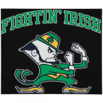 "Fanatics Notre Dame Fighting Irish 12"" x 12"" Arched Logo Decal"