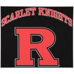 "Fanatics Rutgers Scarlet Knights 12"" x 12"" Arched Logo Decal"