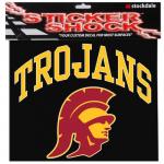 "Fanatics USC Trojans 12"" x 12"" Arched Logo Decal"