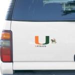 Fanatics Miami Hurricanes 3-Pack Car Magnet Set